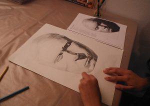 atelier art dessin peinture enfant adulte mimi vermicelle savenay