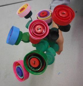 atelier recyclage creatif avec les enfants le mercredi après midi