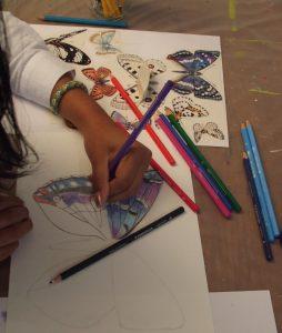 cours dessin enfant peinture atelier mimi vermicelle severine peugniez savenay