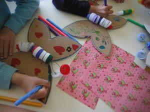 page facebook atelier mimi vermicelle recyclage creatif mercredi apres midi activités enfant