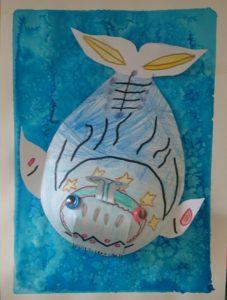stage d'été 2018 dessin peinture enfant atelier mimi vermicelle savenay